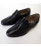 マレリー Marelli シューズ ビジネスシューズ 革靴 スリッポン 本革 レザー 24.5 黒 ブラック 紳士 くつ 靴 小さいサイズ