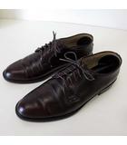 ヴァン ヂャケット VAN JAC シューズ ビジネスシューズ ストレートチップ 本革 レザー 革靴 26.0cm ダークブラウン こげ茶色 日本製 くつ 靴