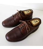 リーガル REGAL シューズ ビジネスシューズ ストレートチップ 軽量 ビブラムソール 25.5cm ブラウン 茶色 くつ 靴 革靴