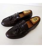 リーガル REGAL ローファー タッセルローファー ビジネスシューズ 本革 レザー 26.5cm ダークブラウン こげ茶色 くつ 靴 シューズ