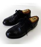 リーガル REGAL シューズ ビジネスシューズ 革靴 ストレートチップ キャップトゥ 本革 レザー 25.5cm 黒 ブラック 紳士 くつ 靴