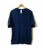 アタッチメント ATTACHMENT Tシャツ スウエット トレーナー 半袖 カットソー コットン M 2 紺 ネイビー 日本製