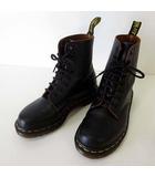 ドクターマーチン DR.MARTENS 1460 ブーツ ショートブーツ レースアップ 8ホール 8EYE BOOT 本革レザー UK4 黒 ブラック 23.0cm くつ 靴 シューズ