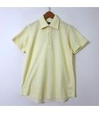 ユナイテッドアローズ UNITED ARROWS ポロシャツ 半袖 ドライ S 黄 イエロー