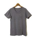 ミスターハリウッド N.HOOLYWOOD Tシャツ カットソー 半袖 Uネック コットン S ダークグレー 日本製