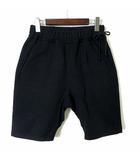 カーリー CURLY パンツ ハーフパンツ ショートパンツ サルエル サイドタイ S 1 黒 ブラック 日本製