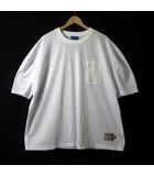 ラファイエット Lafayette ジャージ メッシュ 19SS ビッグシルエット ロゴ ポケット 半袖 XL 白 ホワイト NYLON POCKET MESH JERSEY 美品