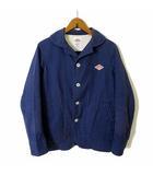 ダントン DANTON ジャケット カバーオール コットン S 34 紺 ネイビー JD-8447 国内正規品