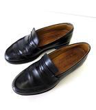 ジャランスリワヤ Jalan Sriwijaya ローファー コインローファー 本革 レザー 41 黒 ブラック 26.5㎝ 紳士 ビジネス くつ 靴 シューズ