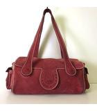 アイグナー AIGNER バッグ ショルダーバッグ スエード レザー ロゴ ローズ ピンク 本革 かばん 鞄 カバン