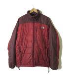 ザノースフェイス THE NORTH FACE ジャケット 中綿 レッドポイントジャケット NY17703 ロゴ 刺繍 ジップアップ 長袖 L 赤 レッド エンジ 国内正規品