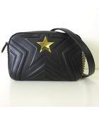 バッグ チェーン ショルダーバッグ ステラスター スモール 黒 ブラック ゴールド 斜め掛け かばん 鞄 カバン