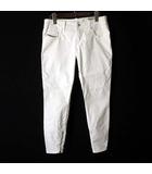 パンツ デニムパンツ スキニー スリム ホワイトデニム Grupee Zip ホワイトデニム W28 白 ホワイト 国内正規品