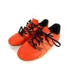 アディダス adidas エックス サッカー スパイク シューズ S83163 ジュニア 子供靴 オレンジ ブラック 黒 21.5