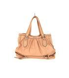 cf01312c941d パサージュ ミニョン passage mignon フェイクレザー ショルダーバッグ トートバッグ かばん 鞄 合成皮革 ピンク