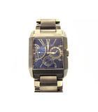 ポリス POLICE 腕時計 クォーツ クロノグラフ サイドアベニュー ウォッチ ステンレス 10966M シルバー ブルー