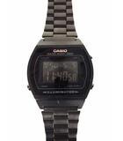カシオ CASIO 腕時計 スタンダード デジタル STANDARD DIGITAL クォーツ B640W 黒 ブラック ウォッチ