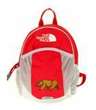 ザノースフェイス THE NORTH FACE リュックサック デイパック 刺繍 カバン 鞄 NMJ71656 赤 レッド グレー キッズ ホームスライス 子供用