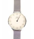 ダニエルウェリントン DANIEL WELLINGTON 腕時計 ウォッチ B32S1 クオーツ 2針 アナログ メッシュベルト シルバー 白文字盤