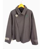 ヨーガンレール JURGEN LEHL ジャケット ショートコート ウール 起毛 ドロップショルダー グレー サイズM グレー