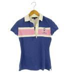 トミーヒルフィガー TOMMY HILFIGER ポロシャツ トップス カットソー 半袖 ブルー 青 ピンク XS