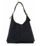 サルヴァトーレフェラガモ Salvatore Ferragamo ハンドバッグ ショルダーバッグ ワンショルダー AU-21 9748 ナイロン レザー 黒 ブラック カバン 鞄