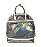 レスポートサック Lesport SAC 2Way リュックサック デイパック ハンドバッグ ボストンバッグ スポーツバッグ グレー系 玉虫色 カバン 鞄