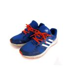 アディダス adidas ランニングシューズ スニーカー 靴 BB4660 3本ライン レースアップ ブルー オレンジ 青 27.5