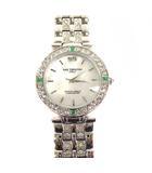 アイザックバレンチノ IZAX VALENTINO 腕時計 クォーツ ウォッチ アナログ シェル IVG-9100-3 3針 シルバー