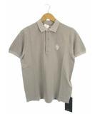タトラス TATRAS トップス ポロシャツ 半袖 コットン MTA13S4204 ワッペン グレー 01
