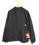 ザノースフェイス THE NORTH FACE コンパクト ジャケット ナイロン パーカー 上着 ジップアップ NPW71830 黒 ブラック L