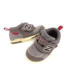 ニューバランス NEW BALANCE ベビーシューズ 靴 キッズシューズ 子供靴 運動靴 スニーカー ファーストシューズ ベルクロ グレー系 13cm