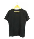 ロアー roar トップス Tシャツ 半袖 プリント 二丁拳銃 ロゴ コットン 黒 黄 2