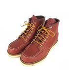 レッドウィング REDWING CLASSIC WORK クラシック ワークブーツ 靴 レザー モックトゥ 8875 ブラウン US5 1/2 E