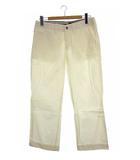 カルバンクラインジーンズ Calvin Klein Jeans ロング パンツ イージーパンツ コットン ボトム 無地 白 W82