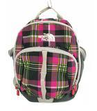 ザノースフェイス THE NORTH FACE リュックサック デイパック 鞄 カバン sprout ポリエステル チェック ピンク系 子供用 女の子