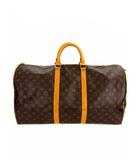 ルイヴィトン LOUIS VUITTON ボストンバッグ 旅行バッグ モノグラム キーポル バンドリエール55 M41414 TH1924 カバン 鞄 ブラウン系 茶系