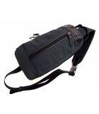 コーチ COACH ヴァリック ナイロン スリング ボディバッグ ワンショルダーバッグ F70692 カバン 鞄 レザー切替 ダークグリーン系 ブラック