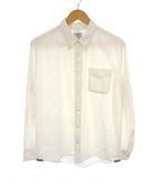 ビズビム VISVIM 長袖 ネップ ボタンダウン シャツ 0112405011001 カラーネップ 白系ベース ホワイト系ベース サイズ2