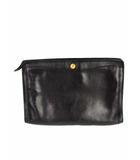 ゴールドファイル GOLD PFEIL セカンドバッグ クラッチバッグ レザー 革 カバン 鞄 黒 ブラック