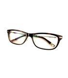 フォーナインズ 999.9 メガネ 眼鏡 伊達メガネ フレーム NPM-26 ダークブラウン アイウェア TITANIUM チタン