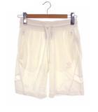 アディダスオリジナルス adidas originals アディダス ショートパンツ ショーツ ハーフパンツ 綿 コットン 白 ホワイト サイズS スポーツウェア トレーニングウェア