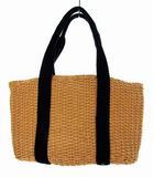 スタディオクリップ Studio Clip かごバッグ カゴバッグ トートバッグ 鞄 カバン ライトブラウン ブラック