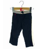 ラルフローレン RALPH LAUREN ボトムス ロングパンツ サイドライン ウエストリブ ダークネイビー 紺 白 12M 80/47 男の子 ベビー 子供服