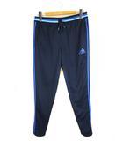アディダス adidas ハイブリッド フィットパンツ ロング ジャージ トレーニングパンツ スポーツウェア AB3131 ネイビー ブルー 2XO