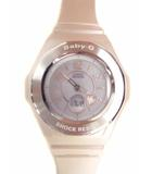 カシオ CASIO Baby-G ベビーG ベビージー 腕時計 デジアナ アナデジ ソーラー電波 タフソーラー BGA-1020-4BJF ピンクベージュ Tripper トリッパー