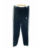アディダス adidas スポーツウェア ボトムス スウェットパンツ ジョガーパンツ 3ストライプス 裾リブ ネイビー 紺 2XO