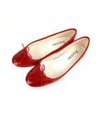 レペット Repetto Cendrillon Ballerinas Flammy red フラットシューズ バレエシューズ パンプス 靴 エナメル 牛革 赤 レッド 39