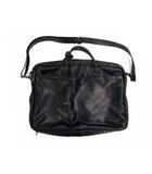 ポーター ダッシュ PORTER DASH!  レザー ブリーフケース ブリーフバッグ ビジネスバッグ バッグ ショルダーストラップ 2Way 革 カバン 鞄 黒 ブラック