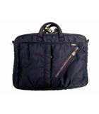 ハーヴェストレーベル HARVEST LABEL ブリーフケース ブリーフバッグ ビジネスバッグ バッグ カバン 鞄 ネイビー 紺 FLYER'S フライヤーズ  MA-1  ナイロン
